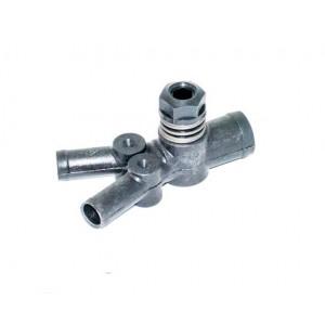 Дозатор газа 1 вход-2 выхода с 1-й регулировкой пластик