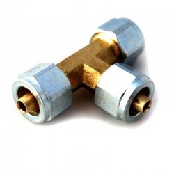 Тройник соединительный Т-образный D6хD6хD6 термопластик