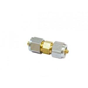 Переходник соединительный D 6 mm-D 6 mm для термопластика