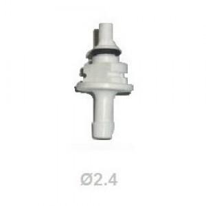 Жиклер (штуцер) калібрувальний до форсунок AEB 2.4 мм білий