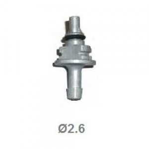 Жиклер (штуцер) калібрувальний до форсунок AEB 2.6 мм сірий