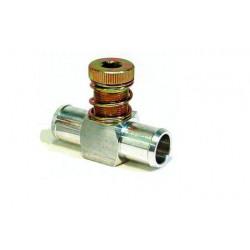 Дозатор газу 1 вхід-1 вихід алюміній