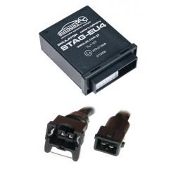 Емулятор інжектора STAG 2-E4/E, 4 цил., роз'єм Europa/Bosch