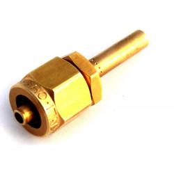 Фитинг к пластиковой трубки D-6mm прямой