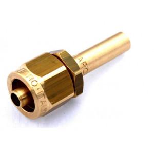 Фитинг к пластиковой трубки D-8mm прямой