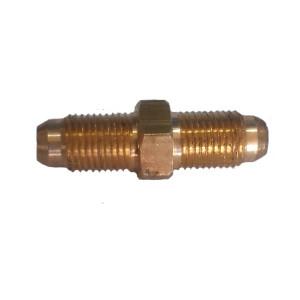 Переходник соединительный врезной D 6 mm-D 6 mm
